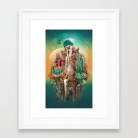 peru Framed Art Prints featuring peru by Tanya_tk