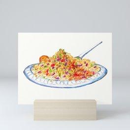 Bhel Puri (Indian Street Food series) Mini Art Print