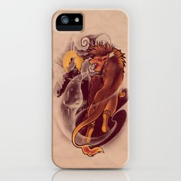 Valley of the Fallen Star iPhone Case
