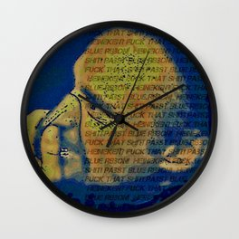 Frank And Particular Beers Wall Clock