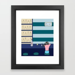 Gin o' Clock Framed Art Print