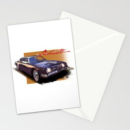 1963 Avanti Stationery Cards