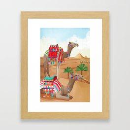Desert Adventure Framed Art Print