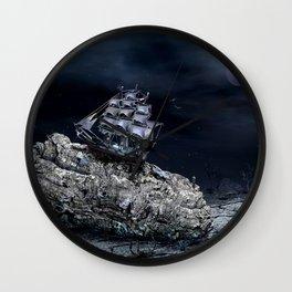 aground Wall Clock