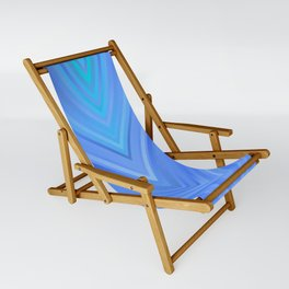 stripes wave pattern 3 c80 Sling Chair