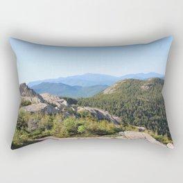 Hiking mountains Rectangular Pillow