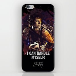 I Can Handle Myself! iPhone Skin