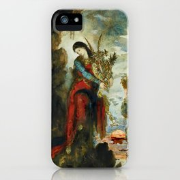 "Gustave Moreau ""Sappho"" iPhone Case"
