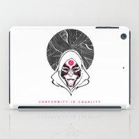 legend of korra iPad Cases featuring Avatar: Legend of Korra Amon Poster by Deepayan Bose
