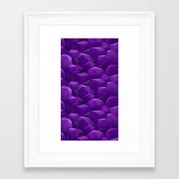 geode Framed Art Prints featuring Geode by Screen Candy