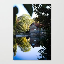 Former lock keeper's house Canvas Print