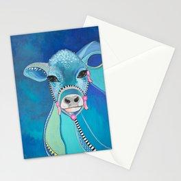 Blue Cow MilkShake Stationery Cards