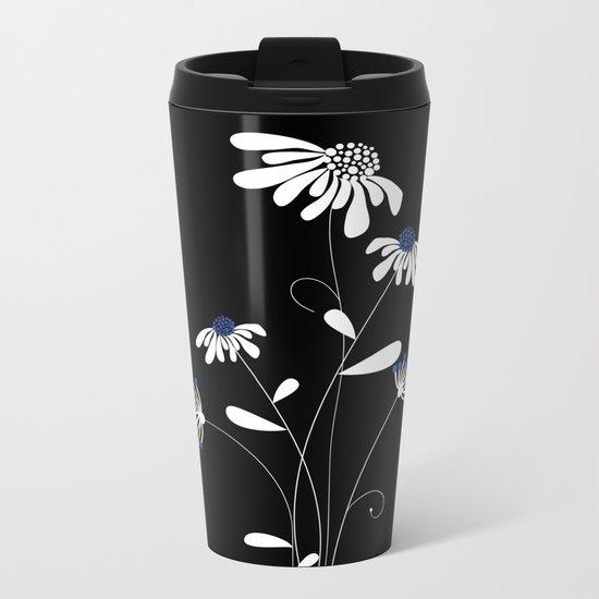 flower..1 Metal Travel Mug