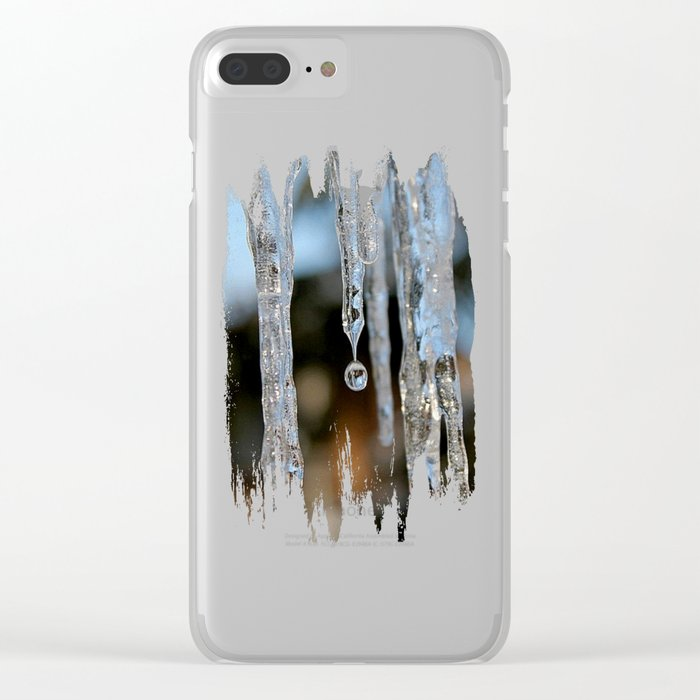 Melting Clear iPhone Case