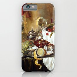 Laurens Craen Still Life with Imaginary View iPhone Case