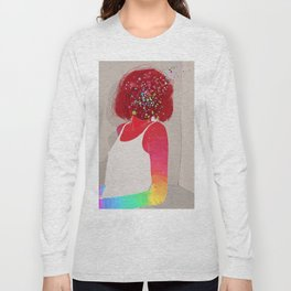 Psychedelic Girl Long Sleeve T-shirt