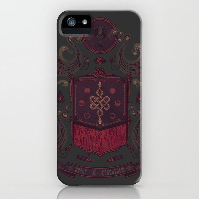 Born in Blood iPhone Case