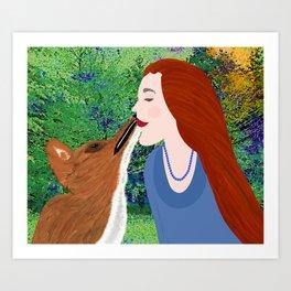 LOVE 2 LOVE Art Print