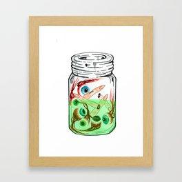 Pickled Enemies Framed Art Print
