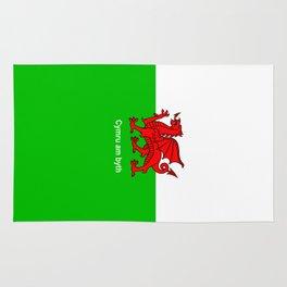 Cymru am byth (Wales For Ever) Rug