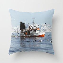 Lofoten Throw Pillow