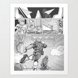 Anticipation : [Falcon] Art Print