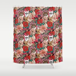 Because Chihuahua Shower Curtain