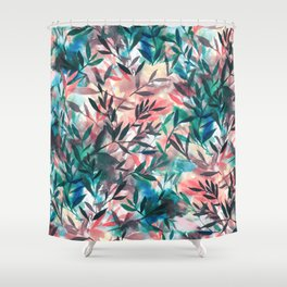 Changes Coral Shower Curtain