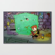 Dungeon Crawling Canvas Print