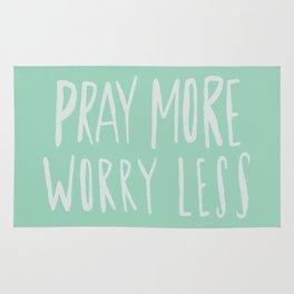 Pray More x Mint Rug