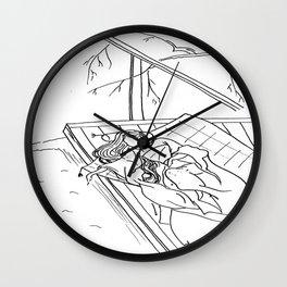 CHINA PRINCESS Wall Clock