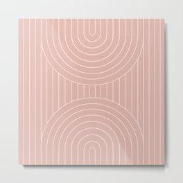 Arch Symmetry XXIV Metal Print