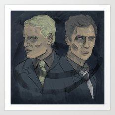 Rust & Marty Art Print