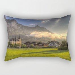 St Lorenz Austrian Alps Rectangular Pillow