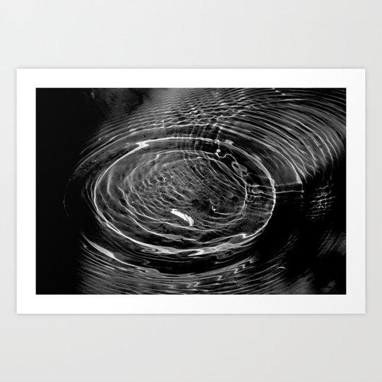 circles of wonder Art Print