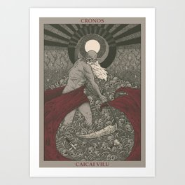 Cronos Art Print