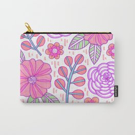 Marker Floral Carry-All Pouch