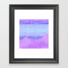Blue Lights  Framed Art Print