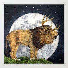 Lion Hart Canvas Print