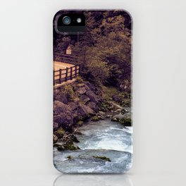 Fassa Valley iPhone Case