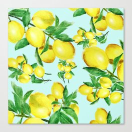 lemon 2 Canvas Print