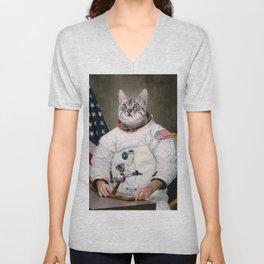 Catstronaut Unisex V-Neck