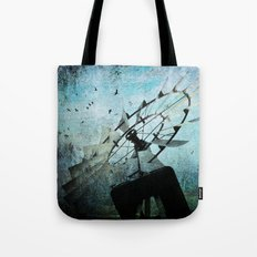 Silent Wind Tote Bag