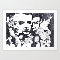 Actor's Studio Art Print