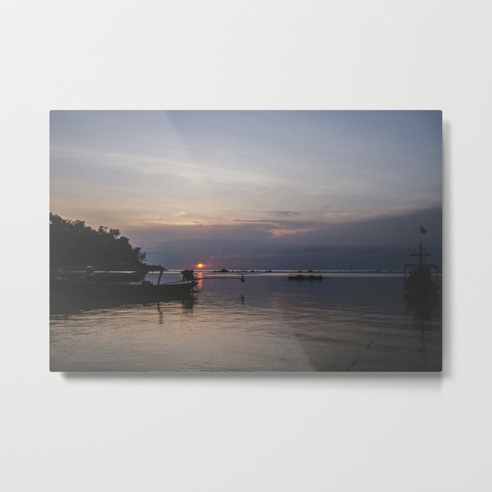 Sunset, Koh Phangan Metal Print