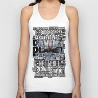 planet of the apes Tank Tops featuring DAWN OF THE PLANET OF THE APES by sokteulu