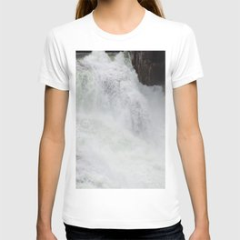The River Is Wild! Churning River, Wild Waterfall, Beautiful Water T-shirt