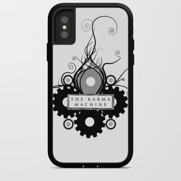 The Karma Machine iPhone Case