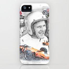Bruce McLaren iPhone Case
