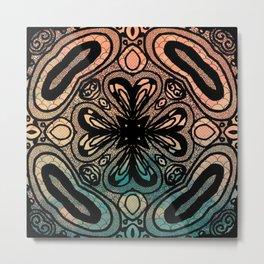 Interlock: color Metal Print